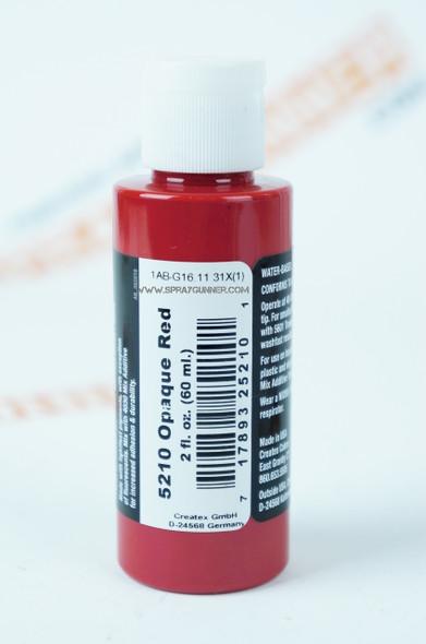 Createx Airbrush Colors Opaque Red 5210 5210 Createx
