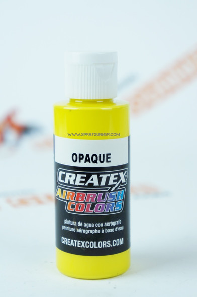 Createx Airbrush Colors Opaque Yellow 5204 5204 Createx