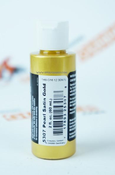 Createx Airbrush Colors Pearl Satin Gold 5307 5307 Createx