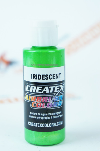 Createx Airbrush Colors Iridescent Green 5507 5507 Createx