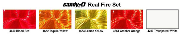 Createx Colors candy2o Real Fire Set 4970-01 Createx