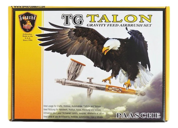 Paasche Talon Set with Three Heads and Fan Cap TG-3AS TG-3AS Paasche