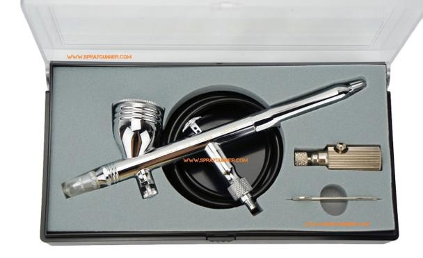 GSI Creos Mr Airbrush Procon Boy PS-270 0.2mm Platinum PS-270 GSI Creos Mr Hobby