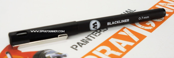 Molotow Water-Based Archival Ink Blackliner Marker 0.7mm Tip 703.207 MOLOTOW