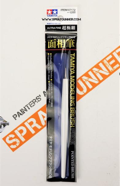 Tamiya Modeling PRO II Pointed Brush Ultra Fine 87172 Tamiya