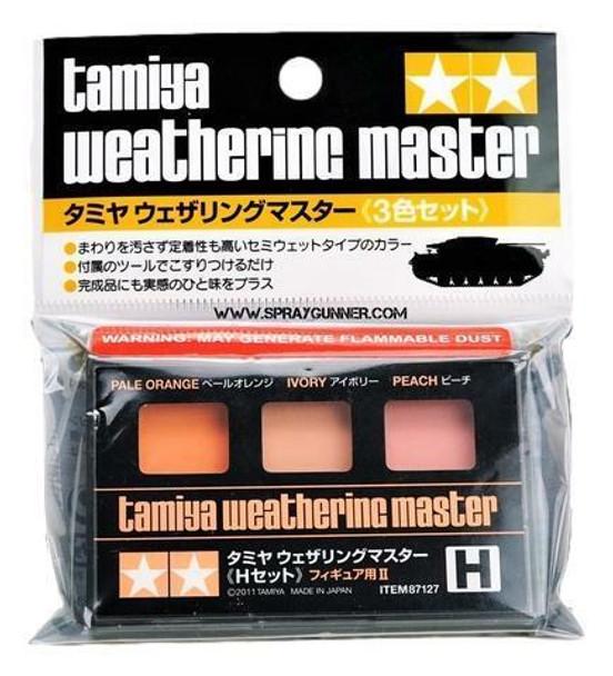 Tamiya Weathering Master Set H Pale Orange/Ivory/Peach 87127 Tamiya