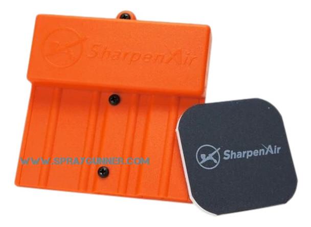 SharpenAir SprayGunner Orange Edition Sharpenair-SGE