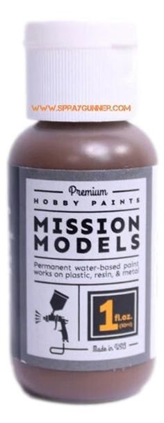 Mission Models Paints Color MMP- 142 Mahogany Flight Decks Tools MMP-142 Mission Models Paints