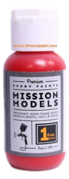 Mission Models Paints Color MMP- 167 Transparent Red MMP-167 Mission Models Paints