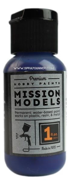 Mission Models Paints Color MMP-168 Transparent Blue MMP-168 Mission Models Paints