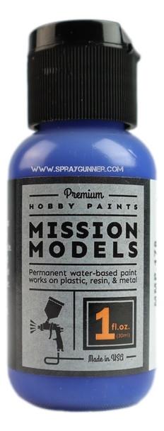 Mission Models Paints Color MMP-178 French Blue Cobalt Blue MMP-178 Mission Models Paints