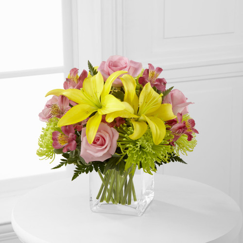 """Well Done"" Bouquet Cypress California Flower Delivery"
