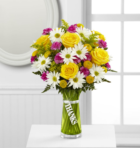 Thanks Bouquet Cypress California Flower Delivery