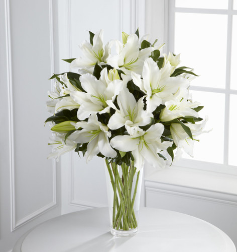 The Light in Your Honor Bouquet Cypress California Flower Delivery