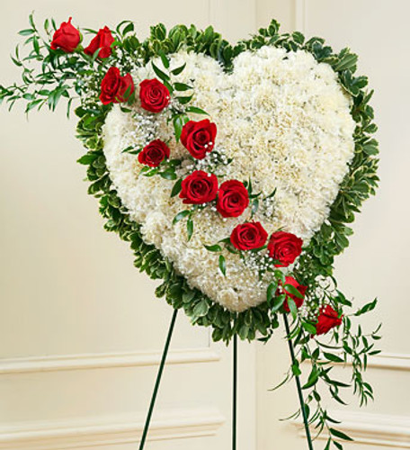 Always in My Heart Floral Heart  Cypress California Florist