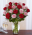 Shades of Pink and Red™ Premium Long Stem Roses