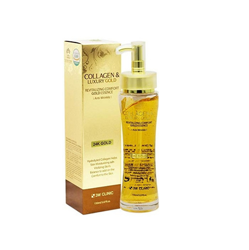 3W Clinic Collagen Luxury Gold Revitalizing Comfort Gold Essence