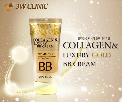 3W Clinic Collagen Luxury Gold BB Cream