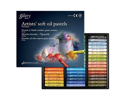 Mungyo Gallery Soft Oil Pastels Set of 48