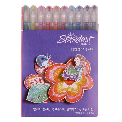Sakura Stardust 10-piece Gelly Roll