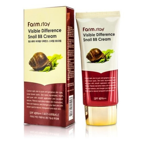 Farmstay Visible Difference Snail BB Cream (50g 1.69 oz) SPF40/PA++