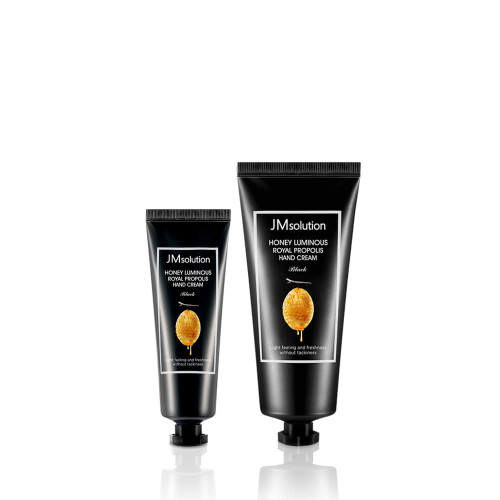 JM Solution Honey Luminous Royal Propolis Hand Cream Set (100ml+50ml/3.38oz+1.69oz) Seasonal use, Moisture