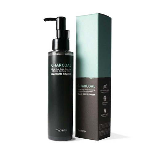 The YEON Lotus Flower Charcoal Transform Cleanser  One Step Cleansing