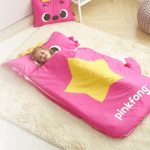 Pinkpong Integrated Nap Quilt Pinkpong Duvet+Mini Pillow+Carpet+Waterproof Bag