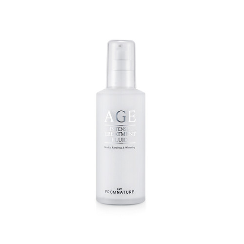 FROMNATURE AGE Intense Treatment Fluid (100ml 3.38 oz) Wrinkle Repairing & Whitening From Nature