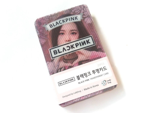 BLACKPINK Transparent Card (25pcs) Goodness Clear Photo Cards, KPOP Star Goods