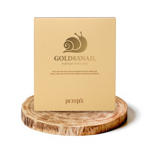 Petitfee Gold and Snail Hydrogel Mask Pack (30g x 5 sheets)