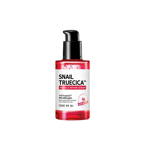 Some By Mi Snail Truecica Miracle Repair Serum (50ml 1.69 oz) Whitening, Anti-Wrinkle