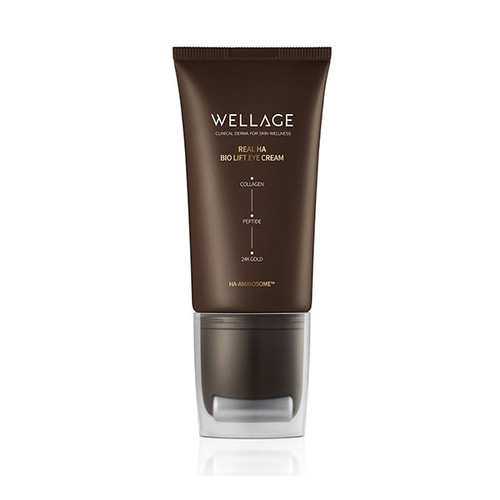 WELLAGE Real HA Bio Lift Eye Cream (45ml 1.52 oz) Anti-Wrinkle, Skin Firming