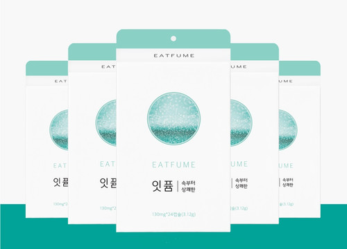 Eatfum - Fresh from Inside, Eating Perfume best for bad breathe (24EA)