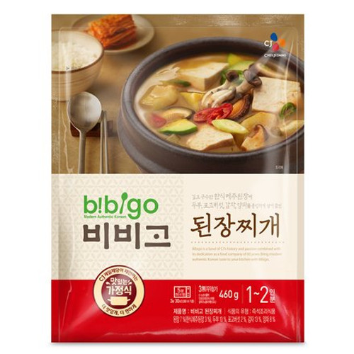 Korean Bibigo Pre-made Packaged Soybean Paste Soup