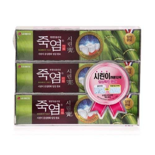 LG Shiringo Bamboo Salt Toothpaste for Sensitive Teeth 120gram