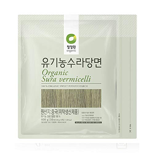 Chungjungone Organic Sura vermicelli Sweet Potato Glass Noodle
