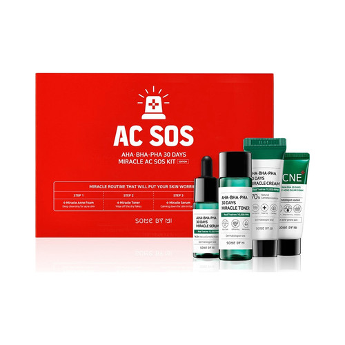 Some By Mi AHA BHA PHA 30 Days Miracle AC SOS Kit - Edition