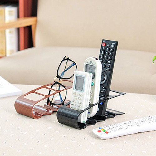 TV Remote Control Storage Holder Organizer Box with 4 Compartments (1+1+1, total 3pcs)