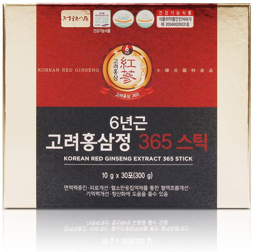 Jungwonsam 6 Years Red Ginseng 365 Stick