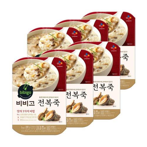 CJ BIBIGO Korean Porridge Ready Meal Healthy Instant Porridge