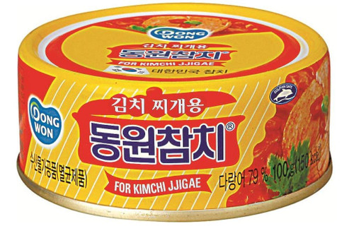 Dongwon Tuna Chunk Style In Kimchi Sauce (150g x 4 cans, 5.29 Ounce)