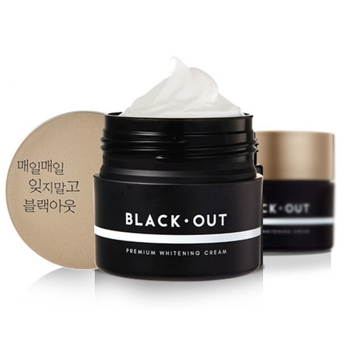 Beauty Young Black Out Whitening Face Cream
