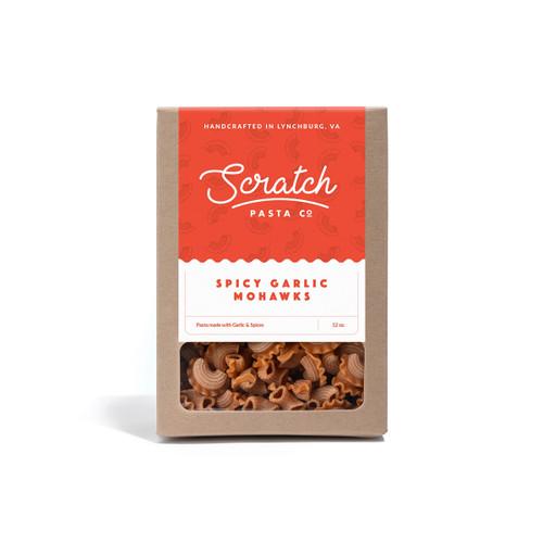 Scratch Pasta Spicy Garlic Mohawks