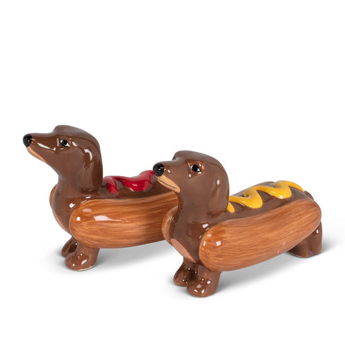 Abbott Dachshunds Salt & Pepper Shakers