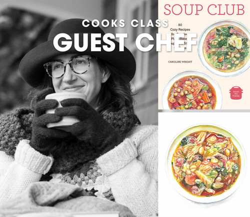 Caroline Wright Visits Cooks - December 1, 2021
