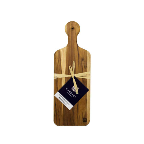 Madeira Teak Edge Grain Bread Board