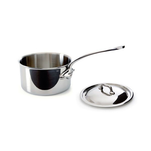 Mauviel M'Cook 3.6qt Covered Saucepan