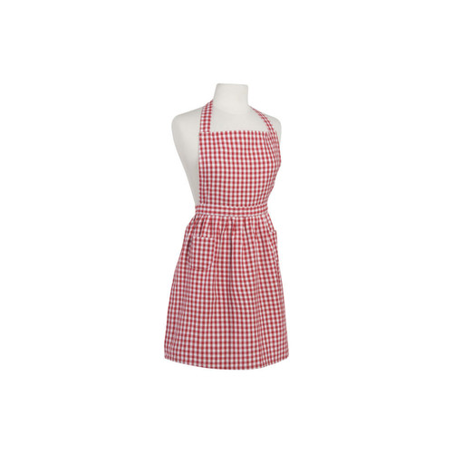 Now Designs Red Gingham Classic Apron