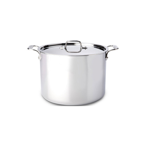 All-Clad D3 Stainless Steel 12qt Covered Stock Pot